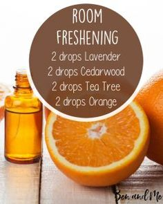 Room Freshening Essential Oil Blend for Your Diffuser