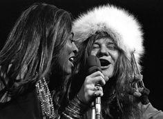 rare janis joplin and tina turner photos  | Tina Turner and Janis Joplin, Madison Square Garden, New York, 1968 ...