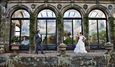 Helen and Nathan's country wedding at Sandon Hall allowed them to have some outstanding pictures taken in the ancient and historic halls.  Find out more: http://www.sandonhall.co.uk/wedding-venues-in-staffordshire/frequently-asked-questions/