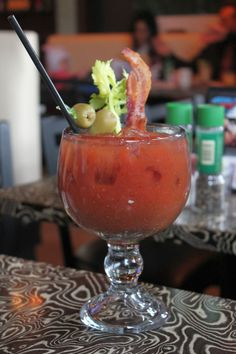 Bacon Bloody Mary from Ciccio's