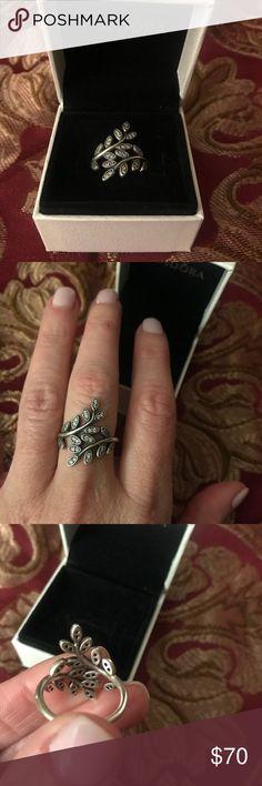 Pandora silver vine ring Pandora silver vine ring Pandora Jewelry Rings