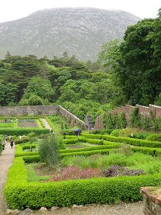 Great Places, Beautiful Places, Connemara Ireland, Love Ireland, Wildlife Nature, Travel Abroad, European Travel, Walled Garden, National Parks