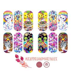 Black And White Nail Designs. Nail styles or nail art is definitely a uncomplicated idea - designs or art that is utilized to spruce up the finger or toenails. They are utilized mostly to enhance a dressing up or lighten up a daily look. Lisa Frank, Nail Art Stickers, Nail Decals, New Nail Polish, Simple Nail Art Designs, Hot Nails, Nail Art Diy, Cardi B, Summer Nails
