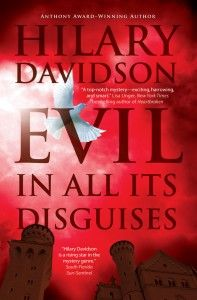 My publisher made some last-minute changes to the cover of EVIL IN ALL ITS DISGUISES. Here's the final version!