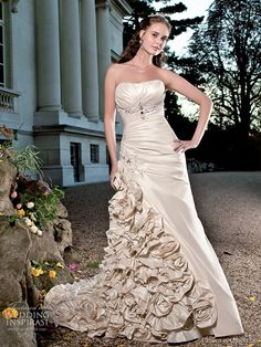 Princess Ornella wedding gown 2011 bridal collection
