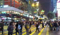 Nathan Road 彌敦道 in Mong Kok to Tsim Sha Tsui // Going Back
