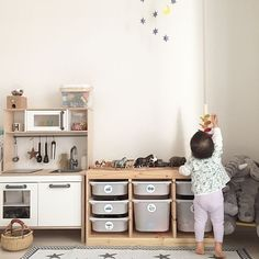 15 IKEA Toys Ideas Every Parent Should Know – mybabydoo - Babyzimmer Ideen Montessori Toddler Rooms, Montessori Bedroom, Ikea Montessori, Playroom Decor, Kids Decor, Ikea Kids Playroom, Kids Playroom Storage, Ikea Toy Storage, Decor Ideas