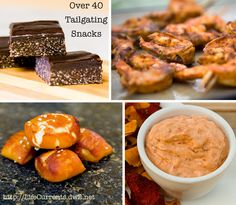 Over 40 Tailgating Snacks from appetizers, to main dishes, to desserts! | Life Currents http://lifecurrents.dw2.net