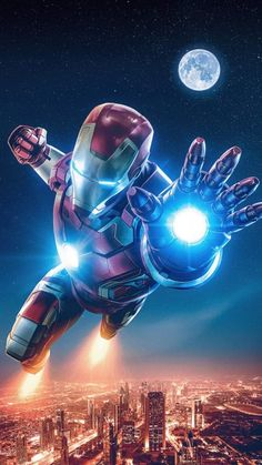 4K Iron Man Art - iPhone Wallpapers