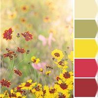 springtime color palette