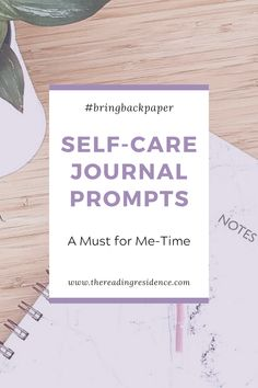 Self-care journal prompts, a must for me-time. Keeping a journal is in itself a form of self-care, but then add to it these prompts, lists and collections to ensure that you are really taking care of yourself. #selfcare #bringbackpaper #journalprompts