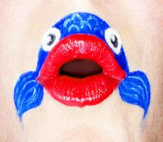 Demon King Ganondorf inspired lip art by ~amanda04 on deviantART Lipstick Designs, Lip Designs, Makeup Art, Lip Makeup, Tinta Facial, Nice Lips, Lipstick Art, Face Painting Designs, Tips & Tricks