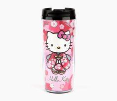 Hello Kitty Plastic Mug: Kimono