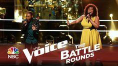 "The Voice 2014 Battle Round - Elyjuh Rene vs. Maiya Sykes: ""If I Ain't G..."