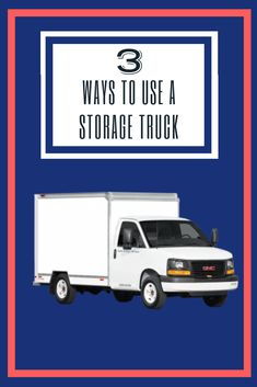 Our trucks can do many things! From on-site storage units on wheels to huge mobile warehouses, click through to learn how our truck will work for you. Storage Units, Storage Solutions, Storage Ideas, Self Storage, Third Way, Warehouses, Kitchen Organization, Work On Yourself, Wheels