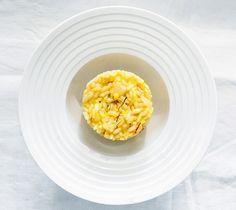 Risotto au safran et citron // Saffron and lemon risotto