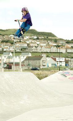 Grit Pro Rider Kieran O'Reilly at portland skatepark