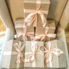 Bridesmaids boxes