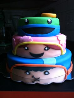 Henry's Team Umizoomi Party Cake