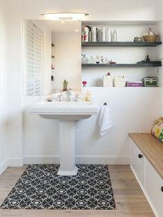Cement tiles rug / Tapis de carreaux ciment