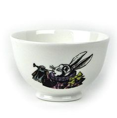 Alice In Wonderland 'One Lump or Two?' Fine Porcelain Sugar Bowl