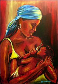 Mother and Child II by Gina Samson