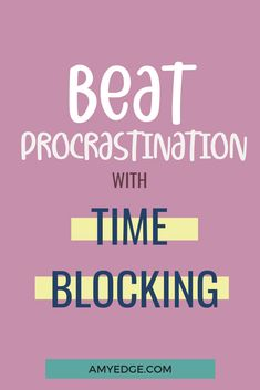 This post includes time management tips plus a time blocking template and step by step planner on how to use time blocking to plan your schedule and increase productivity. Click through for the template! How To Start A Blog, How To Get, How To Plan, Business Tips, Online Business, Thing 1, Increase Productivity, Time Management Tips, Online Entrepreneur