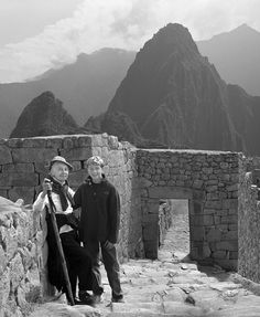 The family at Macchu Pichu