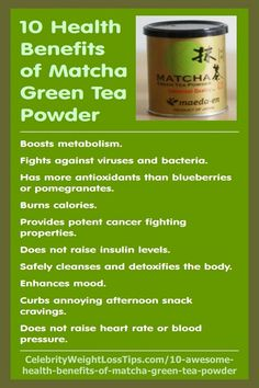 Here are 10 incredible health benefits of using matcha green tea powder, plus a healthy recipe for Matcha Green Tea Energy Drink. #EnergyDrinks #MatchaGreenTea #HealthBenefits Green Tea Smoothie, Tea Smoothies, Smoothie Recipes, Green Smoothies, Smoothie Cleanse, Matcha Tea Benefits, Matcha Powder Benefits, Green Tea Benefits, Matcha Tee