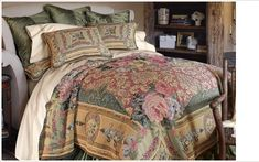 Soft Surroundings Bedding | MAS LA BARQUE TAPESTRY BEDDING COLLECTION