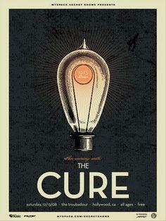 The Cure by Vahalla Studios  Follow Dirty Vinyl collection on Tumblr... http://dirtyvinyl.tumblr.com