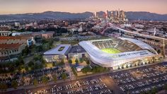 #MLS  Los Angeles FC release new renderings for Banc of California Stadium