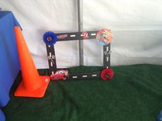 Diy picture frame disney cars birthday party ideas