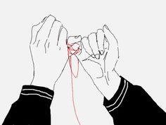 anime, hands, and manga Bild Hand Reference, Drawing Reference, Photo Manga, Rukia Bleach, Manga Anime, Anime Art, Red String Of Fate, Kimi No Na Wa, Manga Couple