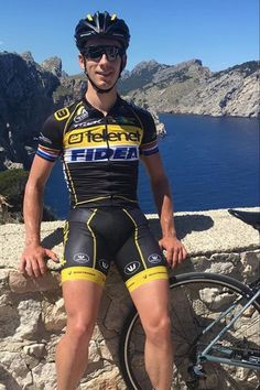 Lars van der Haar Cycling Wear, Cycling Outfit, Men's Cycling, Cycling Equipment, Lycra Men, Bicycle Race, Sport Man, Triathlon, Beautiful Men