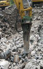 Serminter, venta de martillo hidráulico V-32 marca Montabert para proyecto en Ciudad Universitaria UNAM, Ciudad de México