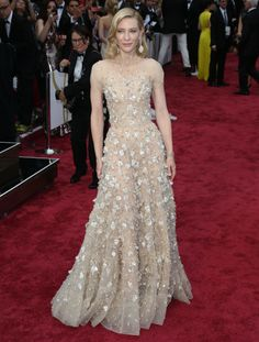 Cate Blanchett in Armani Privé | Academy Awards 2014