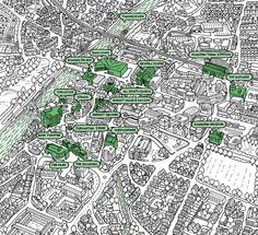 Matt Johnstone illustration, Map of Kingston for the Rose Theatre What A Wonderful World, Kingston Upon Thames, Map Projects, London Calling, City Maps, Travel List, Cartography, Pattern Art, Drawing Sketches