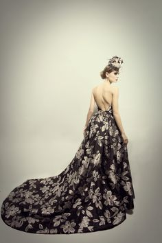 Dress: Daniel Learmont Couture Photography: Anastasia Blades Photography  MUA: Amber Adams Hair: Liz Tieu Model: Eloise Compton —