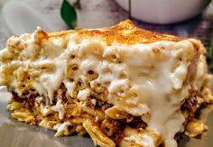 Cookbook Recipes, Cooking Recipes, Lasagna, Feta, Macaroni And Cheese, Pie, Ethnic Recipes, Desserts, Greece