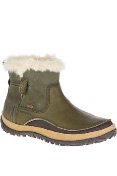 Merrell Womens Boot Tremblant Pull On Polar WTPF Dusty Olive