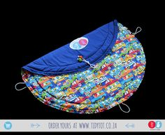 Tidy Tot - With its vibrant, typically South African feel this TIDY TOT just shouts FUN.  Your little one can identify all the animals, colours and cars while sitting in comfort on this Fully PADDED fun and funky TIDY TOT.  It also makes the ideal gift if travelling overseas, take a little bit of South Africa with you and share the TIDY TOT experience.  www.tidytot.co.za | The Play Mat That's a Toy Bag