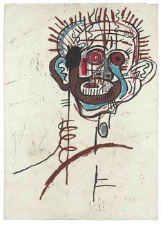 Jean-Michel Basquiat b.1960 Untitled