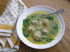 Love it Jolie, the story that is. Certain the soup is good too! joeycake: turkey meatball soup!