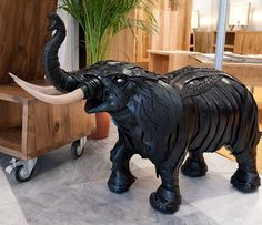 How to Recycle: Creative Sculpture made from Old Tires