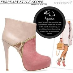 Valentines/Spring Ankle Boot- The Marshale by Madison ..from Shoe Dazzle.com $59..Darling
