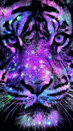 Tiger Bling Wallpaper… By Artist Unknown… Tiger Bling Wallpaper. By Artist Unknown. Bling Wallpaper, Tiger Wallpaper, Animal Wallpaper, Galaxy Wallpaper, Cute Animal Drawings, Cute Drawings, Drawing Faces, Art Tigre, Tiger Artwork