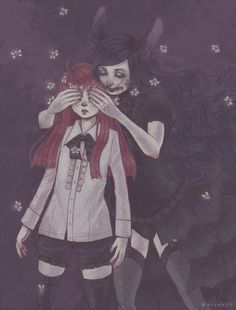 Curious Rabbit by DrawKill on DeviantArt Arte Horror, Horror Art, Estilo Dark, Steampunk, Goth Art, Creepy Art, Pastel Goth, Dark Art, Art Inspo