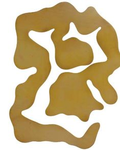 Cut No. 10. Shadow Cloud by Jean (Hans) Arp (1886-1966, France)