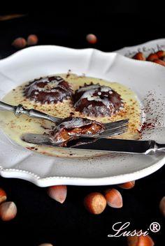 Lussi`s World of Artcraft: Шоколадови равиоли с карамелен пълнеж / Chocolate ravioli with choco-caramel filling